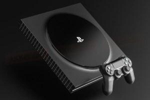 Возможный внешний вид PS5