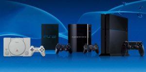 Все приставки Sony