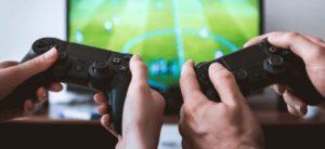 Два геймпада PS4