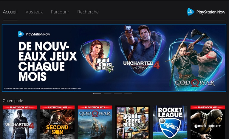 Игры Playstation Now