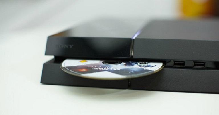 Приставка с диском