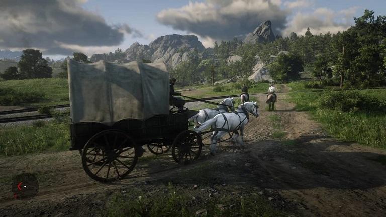 Погони в Red Dead Redemption 2