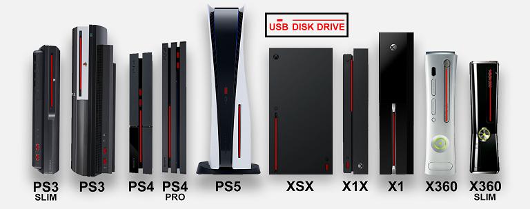 Высота Playstation 5