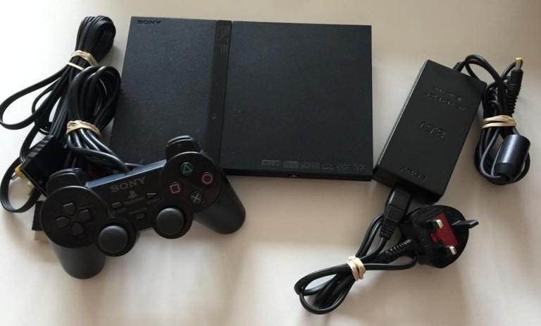 Консоль PS2 Slim
