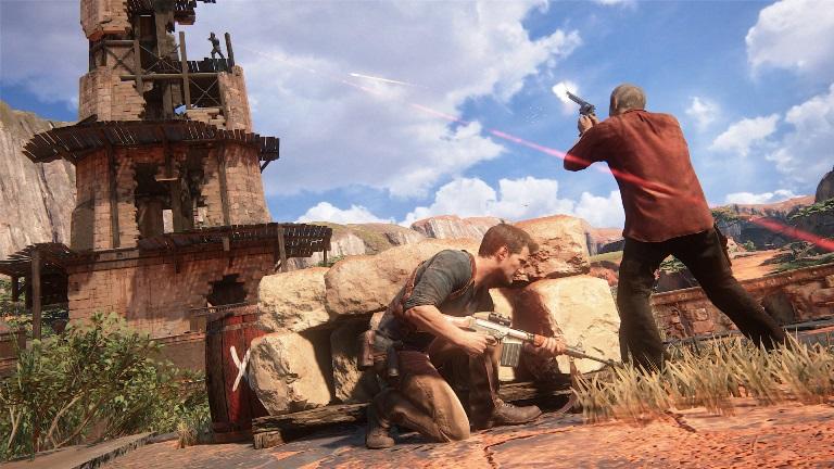 Перестрелки в Uncharted 4