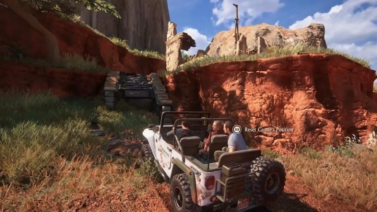 Поездки на машине в Uncharted 4