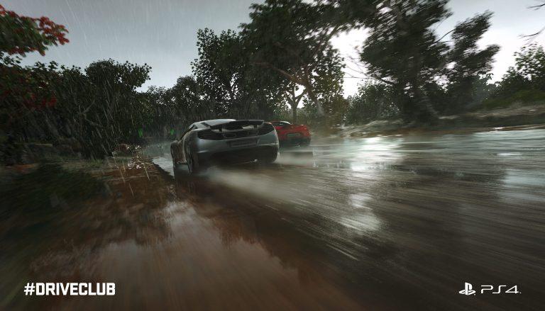 Дождевая гонка в Driveclub