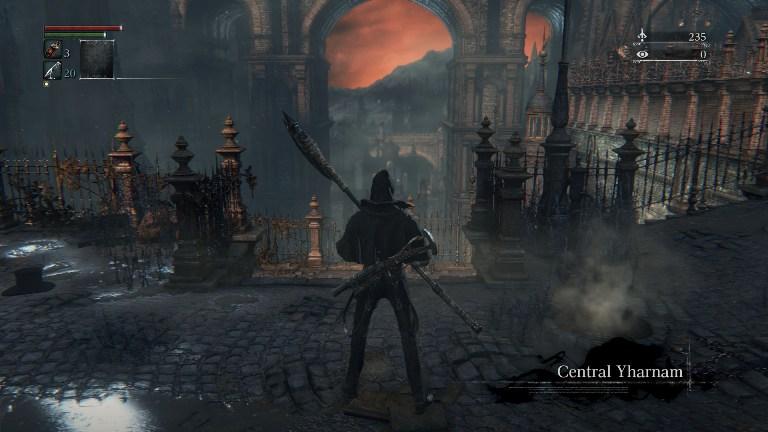 Мрачная атмосфера Bloodborne