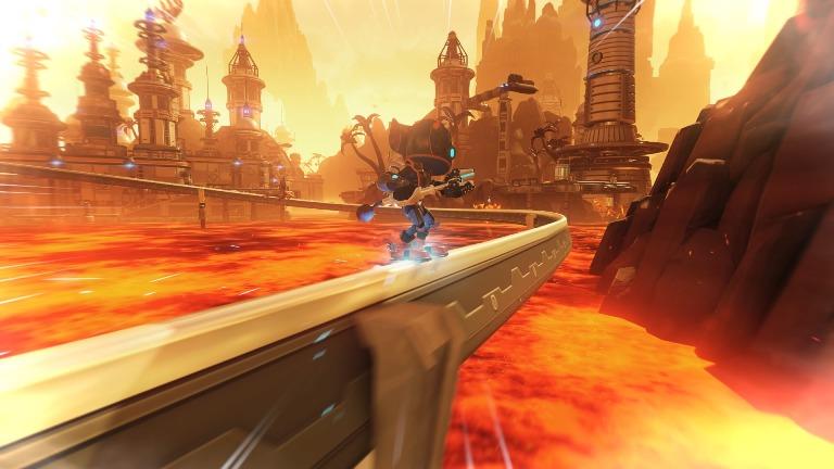 Бои в Ratchet & Clank