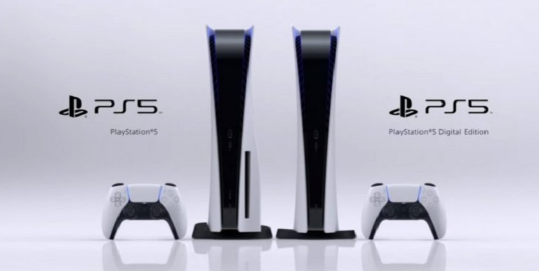 Две версии PS5