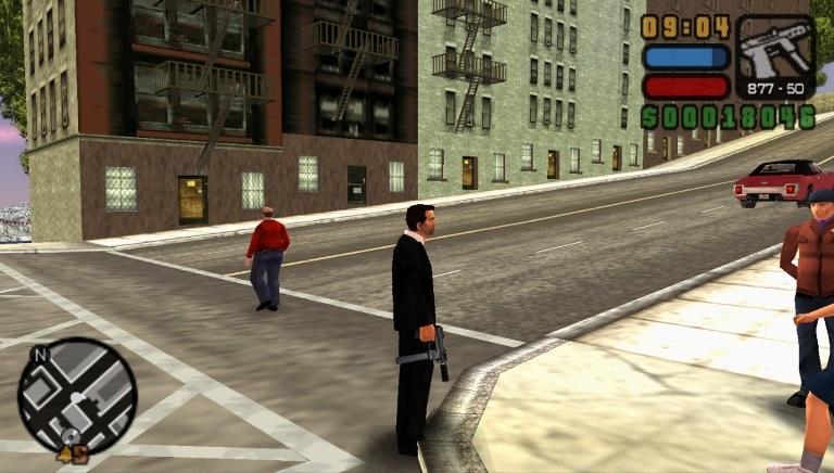 Grand Theft Auto Liberty City Stories для PSP