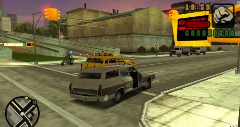 Игра Grand Theft Auto Liberty City Stories