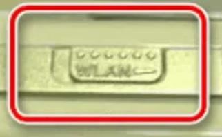 Кнопка WLAN на PSP