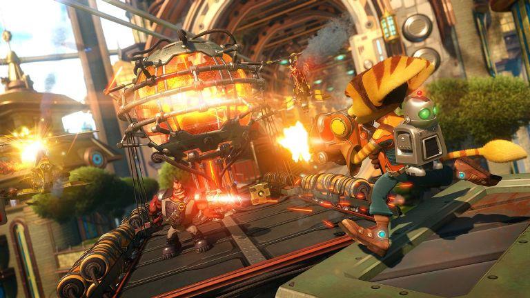 Красочная графика в Ratchet & Clank