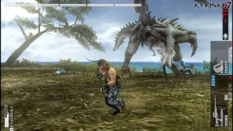 Metal Gear Solid Peace Walker на PSP