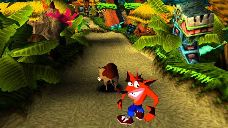 Игра Crash Bandicoot