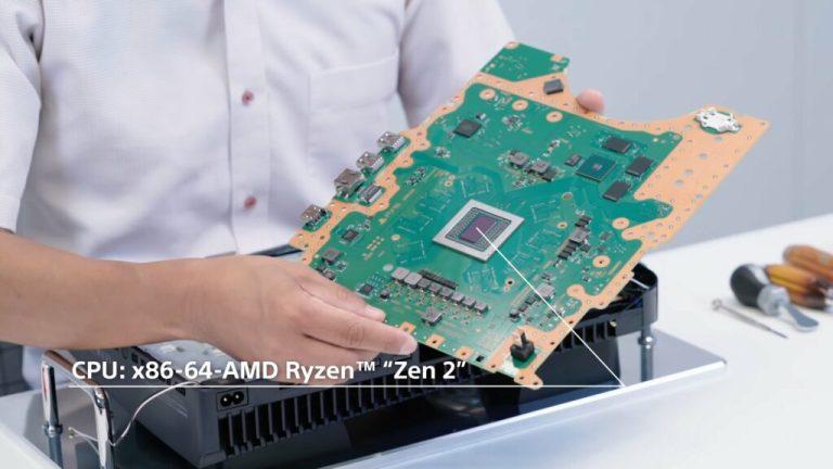 Процессор PS5