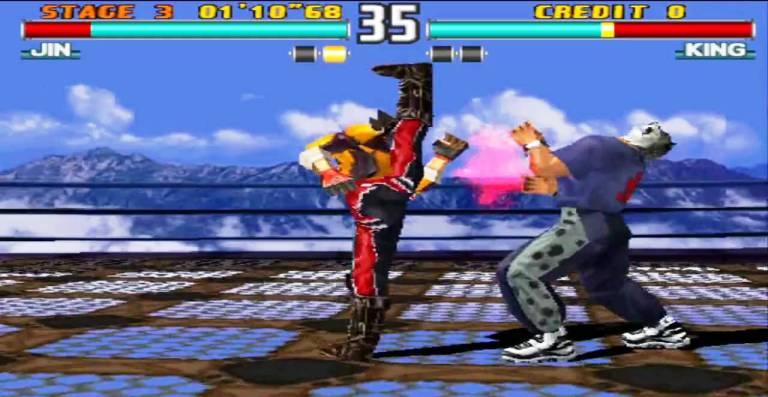 Tekken 3 - игра PS1