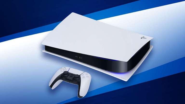PS5 с геймпадом