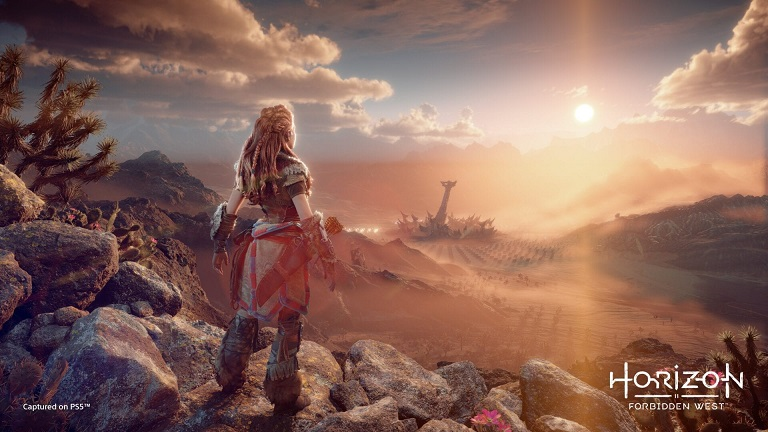 Пустыня в Horizon Forbidden West