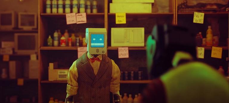 Роботы в Stray