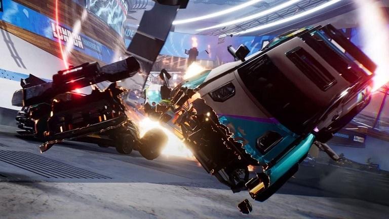 Автомобильные битвы в Destruction AllStars