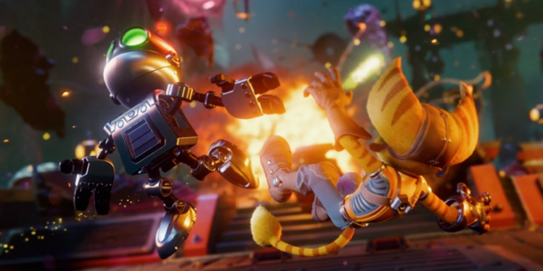 Графика в Ratchet and Clank Rift Apart