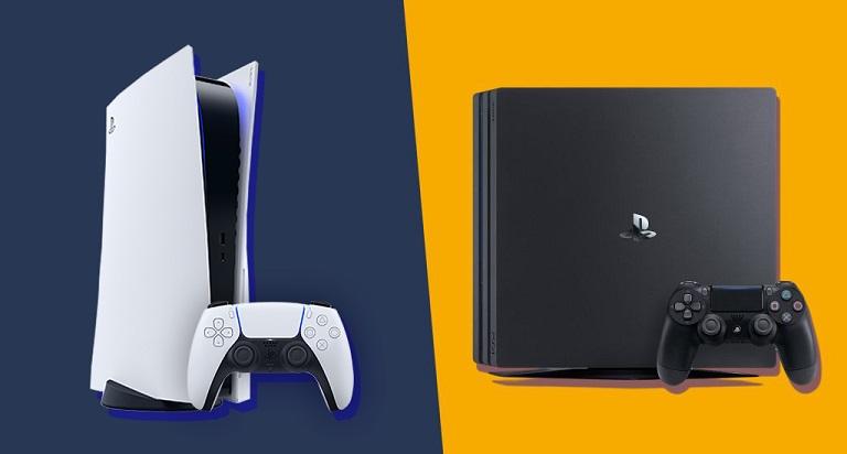 Приставки PS4 и PS5
