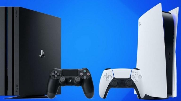 Консоли PS4 и PS5