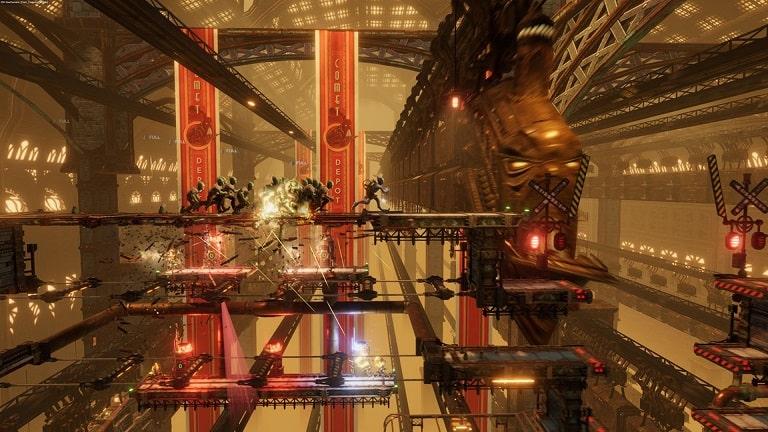 Уровни в игре Oddworld Soulstorm