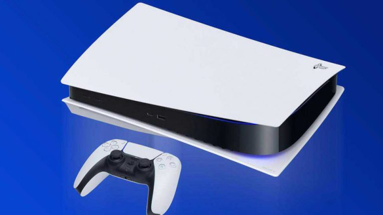 Приставка Playstation 5 и геймпад