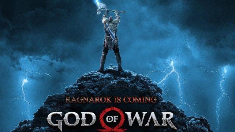 Игра God of War Ragnarok (PS4)