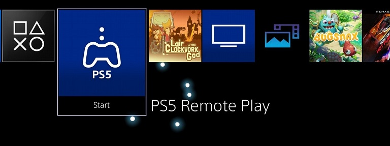 Приложение Remote Play на PS4
