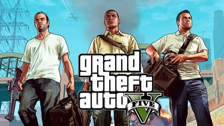 GTA V - игра