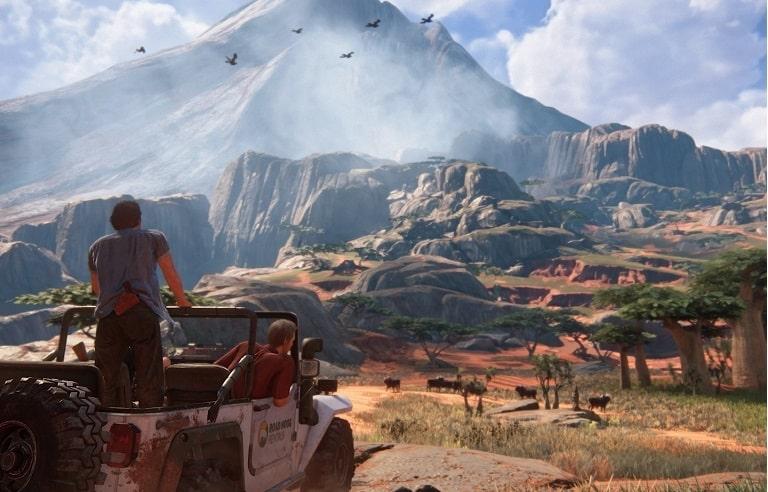 Графика в Uncharted 4